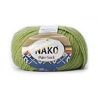 Nako Pure Sock (Нако Пуре Сок) 70% - шерсть супервош, 30% - полиамид 6778