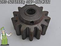 Шестерня к бетономешалке венгерского производства Agrimotor - 13 зубов, конусная шестерня Агримотор