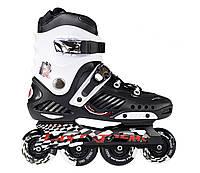 Роликовые коньки Nils Extreme NA12333 Size 43 Black\White, фото 1