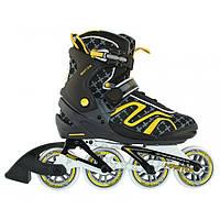 Роликовые коньки Nils Extreme NA1221S Size 41 Black\Yellow, фото 1
