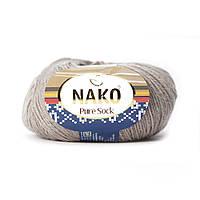 Nako Pure Sock (Нако Пуре Сок) 70% - шерсть супервош, 30% - полиамид 6942