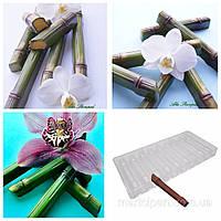 Бамбук поликарбонатная форма для шоколадных конфет