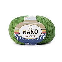 Nako Pure Sock (Нако Пуре Сок) 70% - шерсть супервош, 30% - полиамид 10474