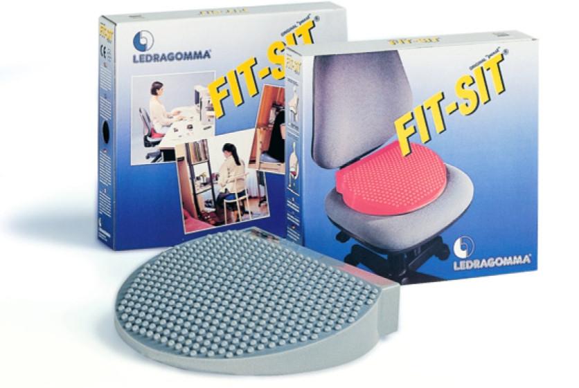 Подушка массажная балансировочная Ledragomma Fit Sit 38 см