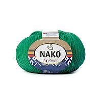 Nako Pure Sock (Нако Пуре Сок) 70% - шерсть супервош, 30% - полиамид 11219