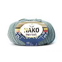 Nako Pure Sock (Нако Пуре Сок) 70% - шерсть супервош, 30% - полиамид 11207