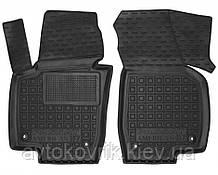 Полиуретановые передние коврики в салон Volkswagen Passat B7 (Америка) 2010-2015 (AVTO-GUMM)