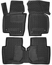 Поліуретанові килимки в салон Volkswagen Passat B7 (Америка) 2010-2015 (AVTO-GUMM)