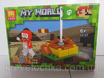 Конструктор My world 33137 от ТМ LELE, фото 2