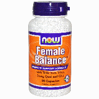 Женский баланс, Now Foods, Female Balance, 90 Caps