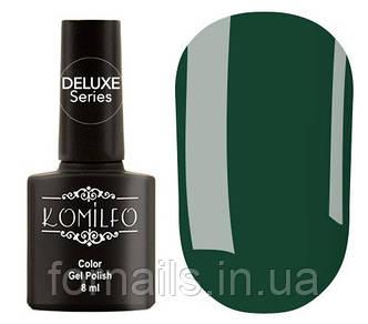 Гель-лак Komilfo Deluxe Series Dusk Collection №D295 (холодный зеленый, эмаль), 8 мл