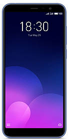 Смартфон Meizu M6T 3/32Gb Blue Global Version Оригинал Гарантия 3 / 12 месяцев