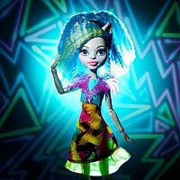 Кукла Сильви Тимбервульф Наэлектризованные Silvi Timberwolf  Monster High Electrified Hair-Raising Ghouls