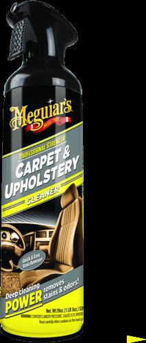 Meguiar`s Carpet & Upholstery Cleaner  Пенный очиститель для ковриков и обивки салона 539 г