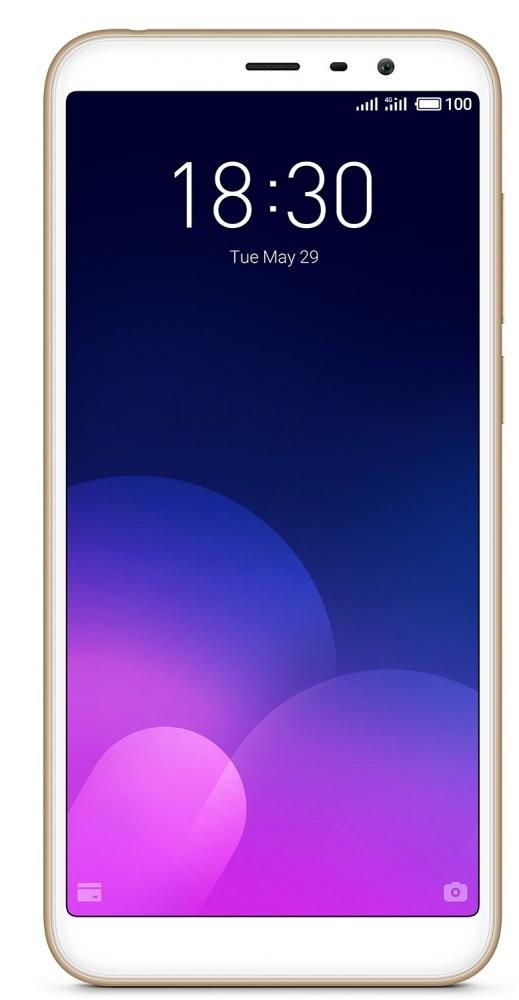 Смартфон Meizu M6T 3/32Gb Gold Global Version Оригинал Гарантия 3 месяца / 12 месяцев