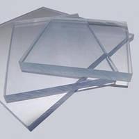 Листы акрила (оргстекло) прозрачного толщиной 5 мм.