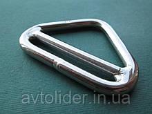 Нержавеющее грузоподьемное кольцо треугольное с перемычкой.