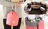 Жіноча дорожня сумка-косметичка 2 в 1 - Travel Dresser Pouch , фото 3