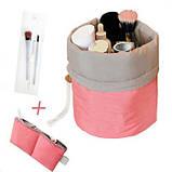 Жіноча дорожня сумка-косметичка 2 в 1 - Travel Dresser Pouch , фото 4