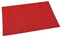 Коврик сервировочный красный Liso Renberg RB-9603-RD