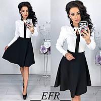 Платье / креп-вискоза, костюмная ткань / Украина 50-316, фото 1