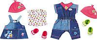Одежда для куклы Baby Born Джинсовый стиль Zapf 824498