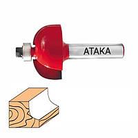 Фреза АТАКА кромочная калевочная 8х22,2х13,0 мм R6,35 мм (561222)