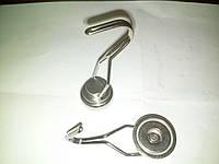 Неодимовый магнит крепежный: Диск D25 в корпусе с крючком (вращение 360° градусов)