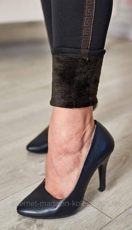 Модельные утепленные женские лосины, фото 2