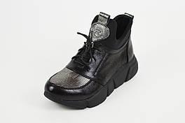 Женские кожаные кроссовки Kento 00577