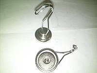 Неодимовый магнит крепежный: Диск D36 в корпусе с крючком (вращение 360° градусов) (26 кг)