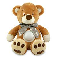 Проектор музыкальный Baby Mix Медведь Puff bear STK-13138 brown