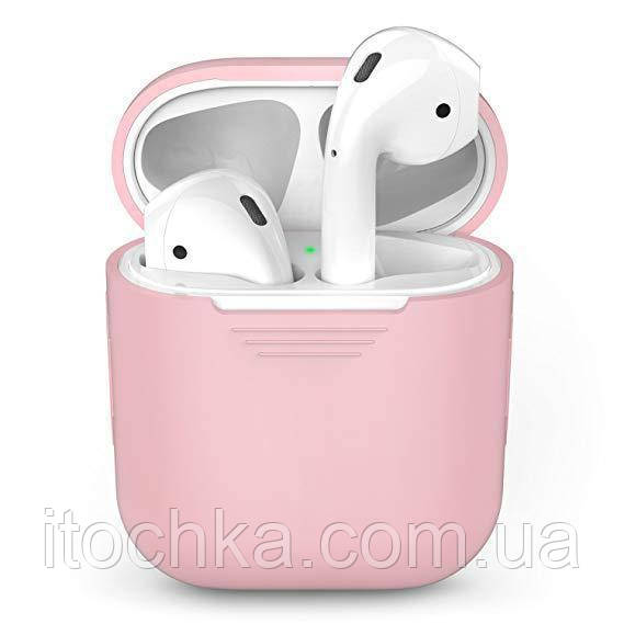Чехол  Silicone Case for AirPods - Pink Sand