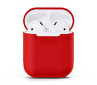 Чехол  Silicone Case for AirPods - Red