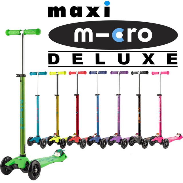 Самокаты Micro Maxi Deluxe (от 3 до 12 лет)