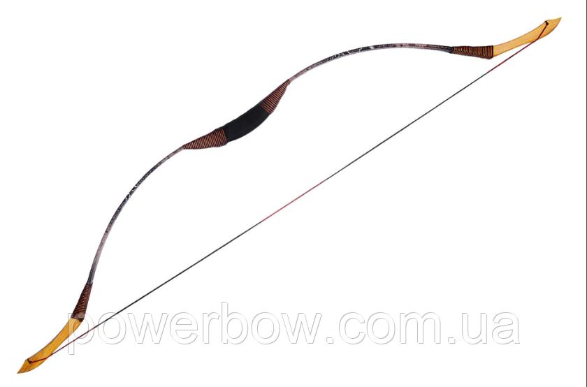 Традиционный лук для стрельбы монгольского типа из фибергласса