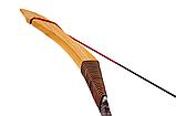 Традиційний лук для стрільби монгольського типу з фібергласу, фото 2