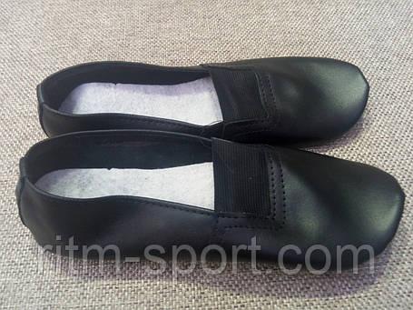 Чешки кожаные черные (размеры 39 - 42), фото 2