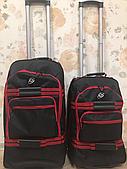 Комплект дорожной сумки на колесах с телескопической ручкой
