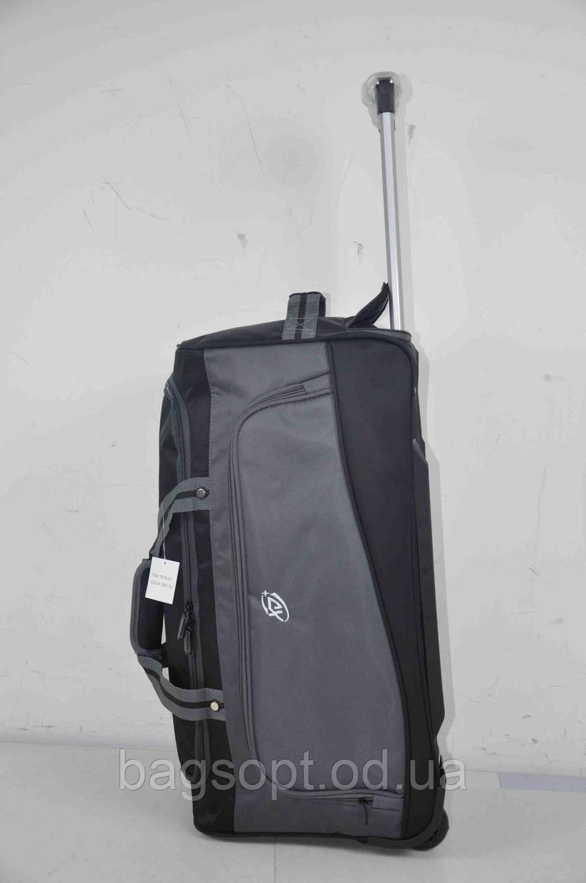 Надежная дорожная сумка на колесах