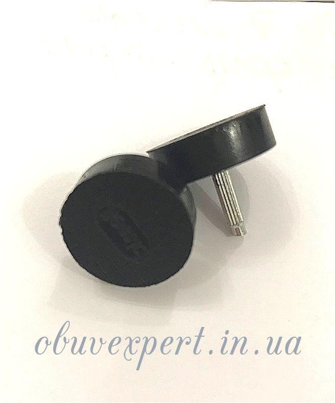 Набойки п/у на штыре BISSELL р.603 (кругл d17 мм, шт 2,9 мм), цв.чёрный