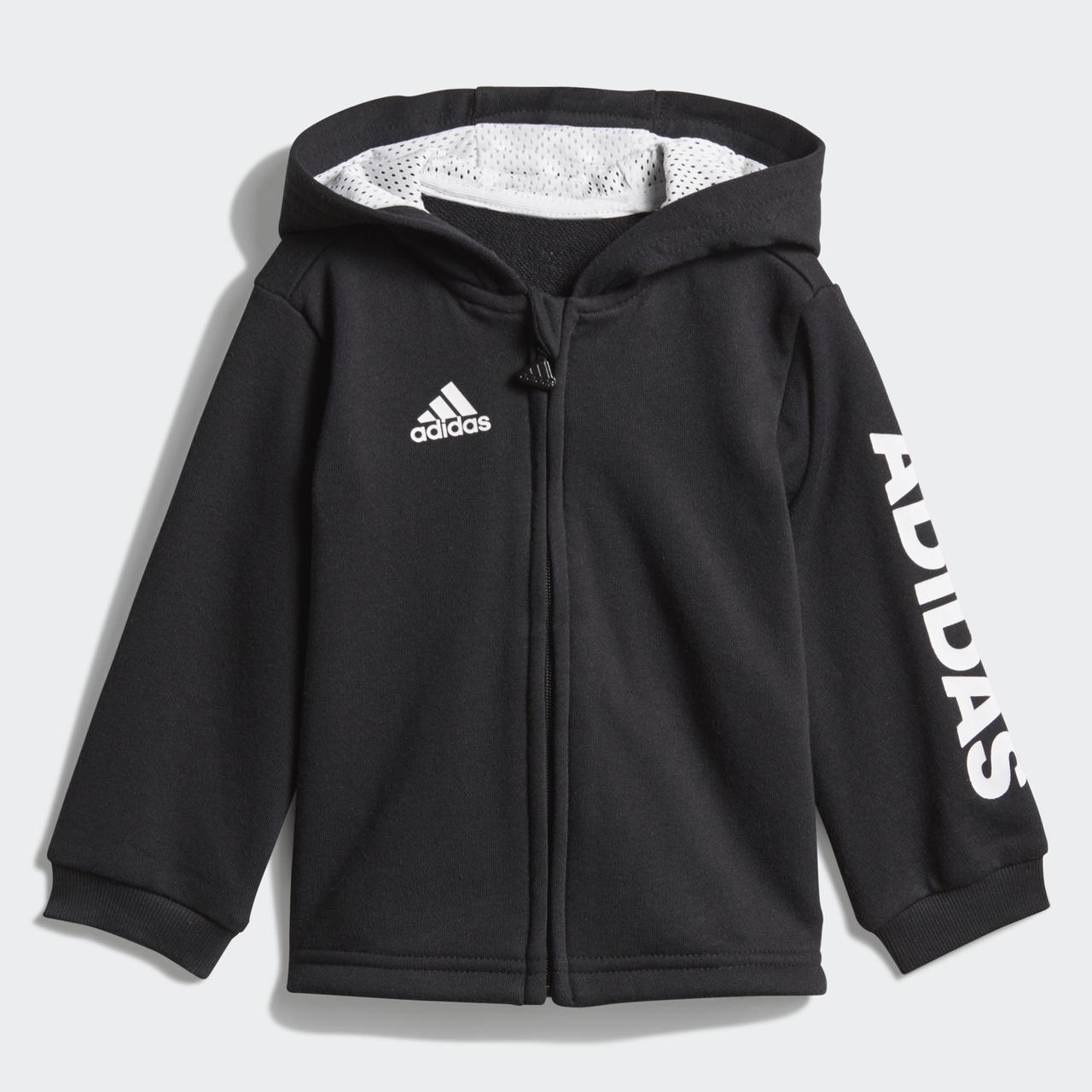 Детский костюм Adidas Performance Linear Hooded (Артикул  DN8418), ... 9b767417d2a