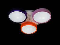 Светодиодная люстра для детской с пультом-диммером B-001, фото 1