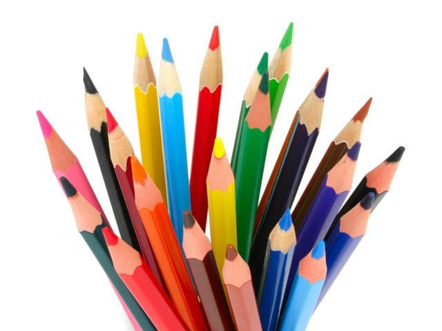 Карандаши, фломастеры, краски, маркеры