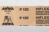 Наждачний папір у рулоні Mirka Hiflex P120 (червона) 115мм. х 50м., фото 2