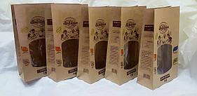 Бумажный пакет с окном 290х170х80мм (печать как на фото)
