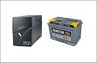 Рабочая станция UPS 1200Вт модифицированая синусоида, до 6 часов при аккумуляторной батарее 12-100А
