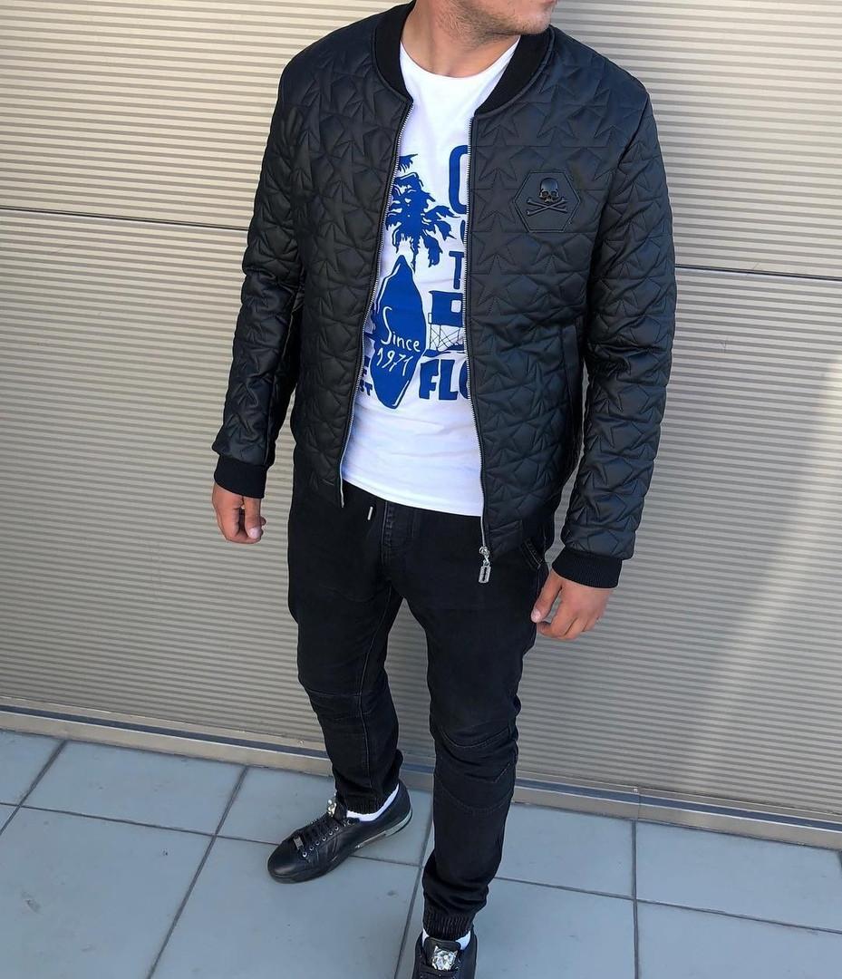Куртка-бомбер Philipp Plein, череп