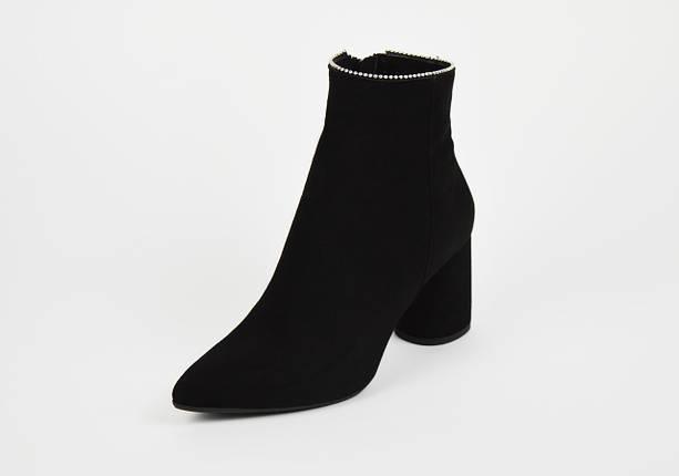 Классические замшевые ботинки с острым носком Bravo Moda 2132, фото 2