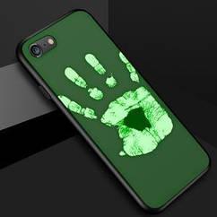 Чехол накладка силикон THERMOCASE iPhone 5/5s/se - Green/Green